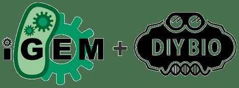 iGEM + DIYBIO logos